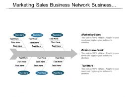Marketing Sales Business Network Business Opportunity Sales Marketing Cpb