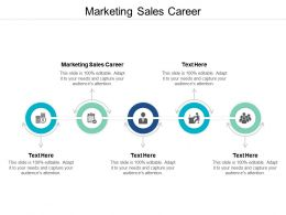 Marketing Sales Career Ppt Powerpoint Presentation Infographic Template Templates Cpb