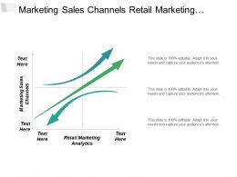 Marketing Sales Channels Retail Marketing Analytics Working Capital Management Cpb