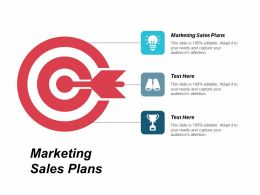 Marketing Sales Plans Ppt Powerpoint Presentation Pictures Icons Cpb