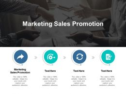 Marketing Sales Promotion Ppt Powerpoint Presentation Styles Example Cpb