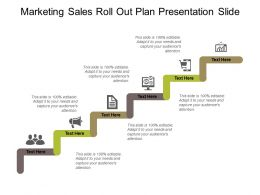 Marketing Sales Roll Out Plan Presentation Slide