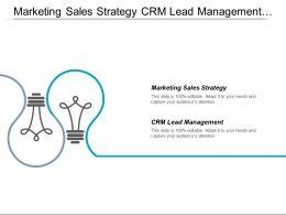 Marketing Sales Strategy Crm Lead Management Digital Marketing Cpb