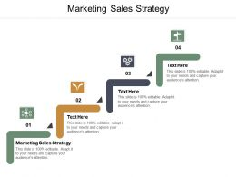 Marketing Sales Strategy Ppt Powerpoint Presentation Pictures Icon Cpb