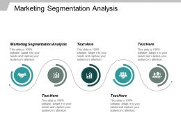 Marketing Segmentation Analysis Ppt Powerpoint Presentation Ideas Objects Cpb
