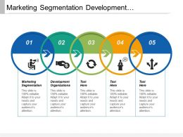 marketing_segmentation_development_organizations_organizational_leadership_stress_management_cpb_Slide01