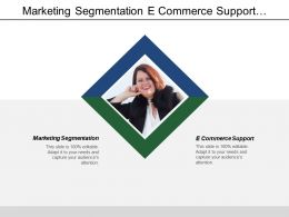 Marketing Segmentation E Commerce Support Pricing Techniques Marketing Techniques