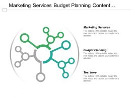 Marketing Services Budget Planning Content Management Business Opportunities Cpb