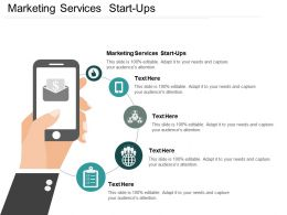 Marketing Services Start Ups Ppt Powerpoint Presentation Icon Example File Cpb