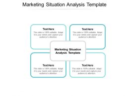 Marketing Situation Analysis Template Ppt Powerpoint Presentation Pictures Template Cpb