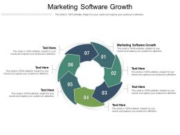 Marketing Software Growth Ppt Powerpoint Presentation Styles Gridlines Cpb