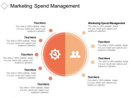 Marketing Spend Management Ppt Powerpoint Presentation Icon Summary Cpb