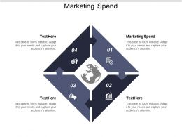 Marketing Spend Ppt Powerpoint Presentation Ideas Display Cpb