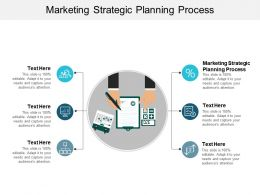 Marketing Strategic Planning Process Ppt Powerpoint Presentation Model Master Slide Cpb