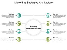 Marketing Strategies Architecture Ppt Powerpoint Presentation Icon Display Cpb
