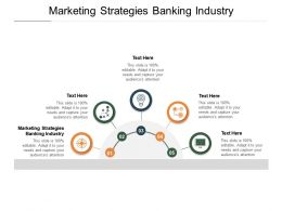 Marketing Strategies Banking Industry Ppt Powerpoint Presentation Brochure Cpb