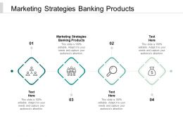 Marketing Strategies Banking Products Ppt Powerpoint Presentation Styles Summary Cpb