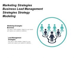 Marketing Strategies Business Lead Management Strategies Strategy Modeling Cpb