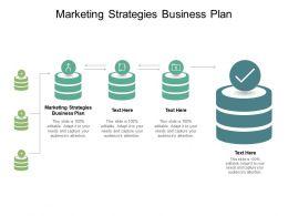 Marketing Strategies Business Plan Ppt Powerpoint Presentation Icon Slides Cpb