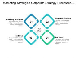 Marketing Strategies Corporate Strategy Processes Management Project Management Cpb