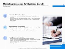 Marketing Strategies For Business Growth Investment Fundraising Post IPO Market Ppt Summary