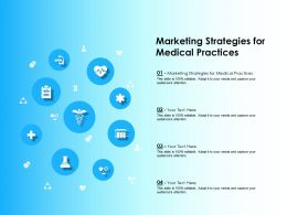 Marketing Strategies For Medical Practices Ppt Powerpoint Presentation Slides Guidelines