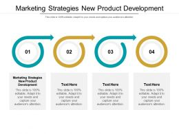 Marketing Strategies New Product Development Ppt Powerpoint Presentation Outline Styles Cpb