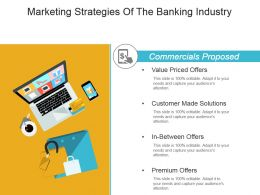 Marketing Strategies Of The Banking Industry Powerpoint Slide Designs Download