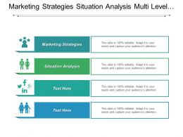 Marketing Strategies Situation Analysis Multi Level Marketing Data Marketing Cpb