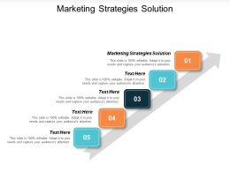 Marketing Strategies Solution Ppt Powerpoint Presentation Model Images Cpb