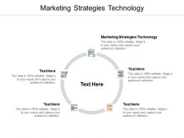 Marketing Strategies Technology Ppt Powerpoint Presentation Summary Graphics Tutorials Cpb