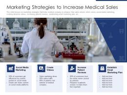 Marketing Strategies To Increase Medical Sales