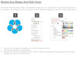 Marketing Strategies With Database Analytics Diagram Powerpoint Slide