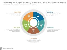 Marketing Strategy And Planning Powerpoint Slide Background Picture