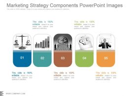 Marketing Strategy Components Powerpoint Images