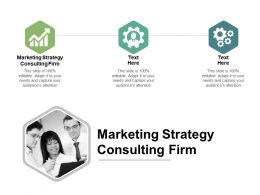 Marketing Strategy Consulting Firm Ppt Powerpoint Presentation Files Cpb