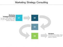 Marketing Strategy Consulting Ppt Powerpoint Presentation Pictures Layout Ideas Cpb