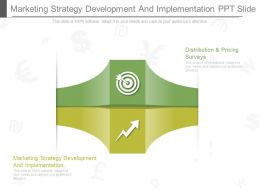 Marketing Strategy Development And Implementation Ppt Slide
