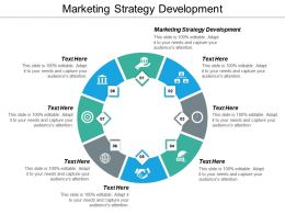 Marketing Strategy Development Ppt Powerpoint Presentation Styles Gridlines Cpb