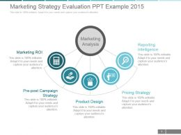 Marketing Strategy Evaluation Ppt Example 2015