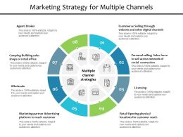 Marketing Strategy For Multiple Channels