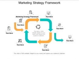 Marketing Strategy Framework Ppt Powerpoint Presentation Outline Show Cpb