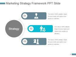 Marketing Strategy Framework Ppt Slide