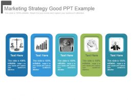 Marketing Strategy Good Ppt Example