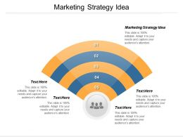 Marketing Strategy Idea Ppt Powerpoint Presentation Layouts Influencers Cpb
