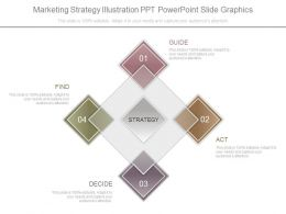 Marketing Strategy Illustration Ppt Powerpoint Slide Graphics