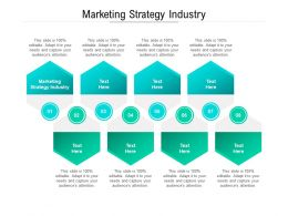 Marketing Strategy Industry Ppt Powerpoint Presentation Pictures Template Cpb