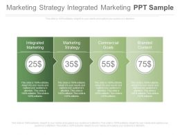 Marketing Strategy Integrated Marketing Ppt Sample