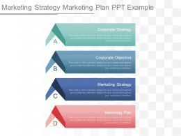Marketing Strategy Marketing Plan Ppt Example