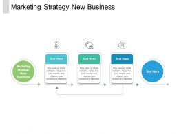 Marketing Strategy New Business Ppt Powerpoint Presentation Icon Inspiration Cpb